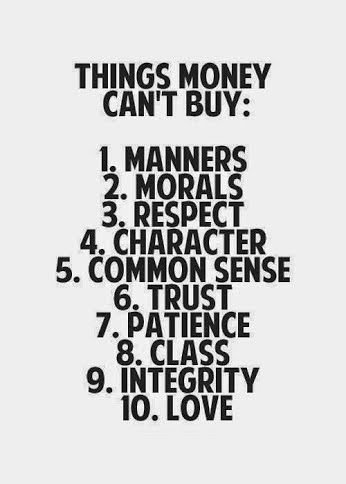 Things Money Cant Buy